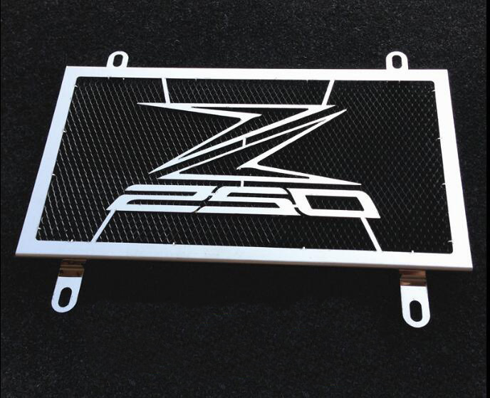 Motorcycle radiator protection cover suitable for Kawasaki Ninja 250 Z250 2013-2014 -2015 stainless steel water tank network for kawasaki z750 z 750 2007 2015 2011 2012 2013 2014 stainless steel motorcycle black radiator grille guard protection cover