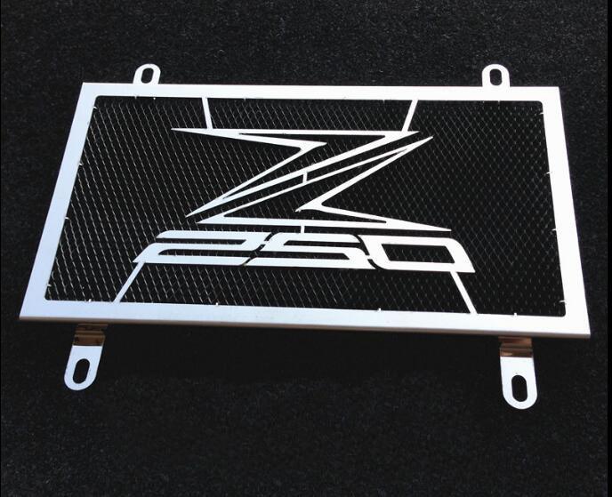 Мотоцикл радиатор защитная крышка подходит для Kawasaki ниндзя 250 Z250 2013-2014 -2015 цистерна с водой нержавеющей стали сети