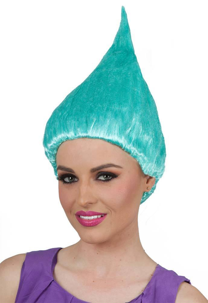 Trolls parrucca per i bambini adulti rosa verde viola orange costume Forniture Cosplay Del Partito Parrucca di Cosplay Del Partito 8 Colori In Azione commercio all'ingrosso
