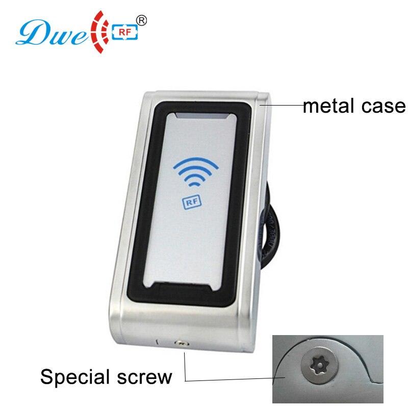DWE CC RF carte de contrôle d'accès lecteur usine rfid lecteur prix anti météo lecteur de carte à puce