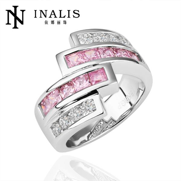 big sale for new store hot selling golden plated micro inlay cubic zirconia wedding rings r198 - Wedding Ring Stores