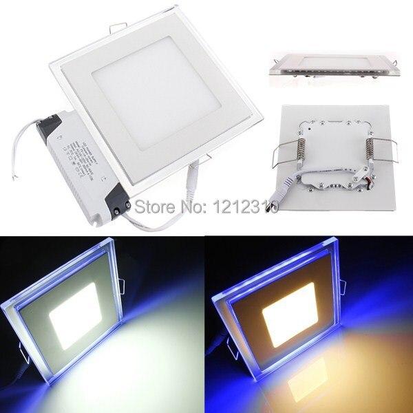 10 Вт 15 Вт 20 Вт LED Панель света AC 110-265 В площади светодиодный потолочный светильник Панель Бесплатная доставка
