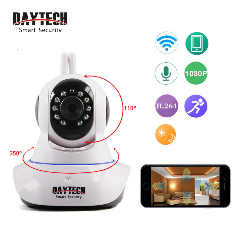 Daytech Home Security <b>IP Camera</b> Wifi Camera <b>Wireless</b> Mini ...