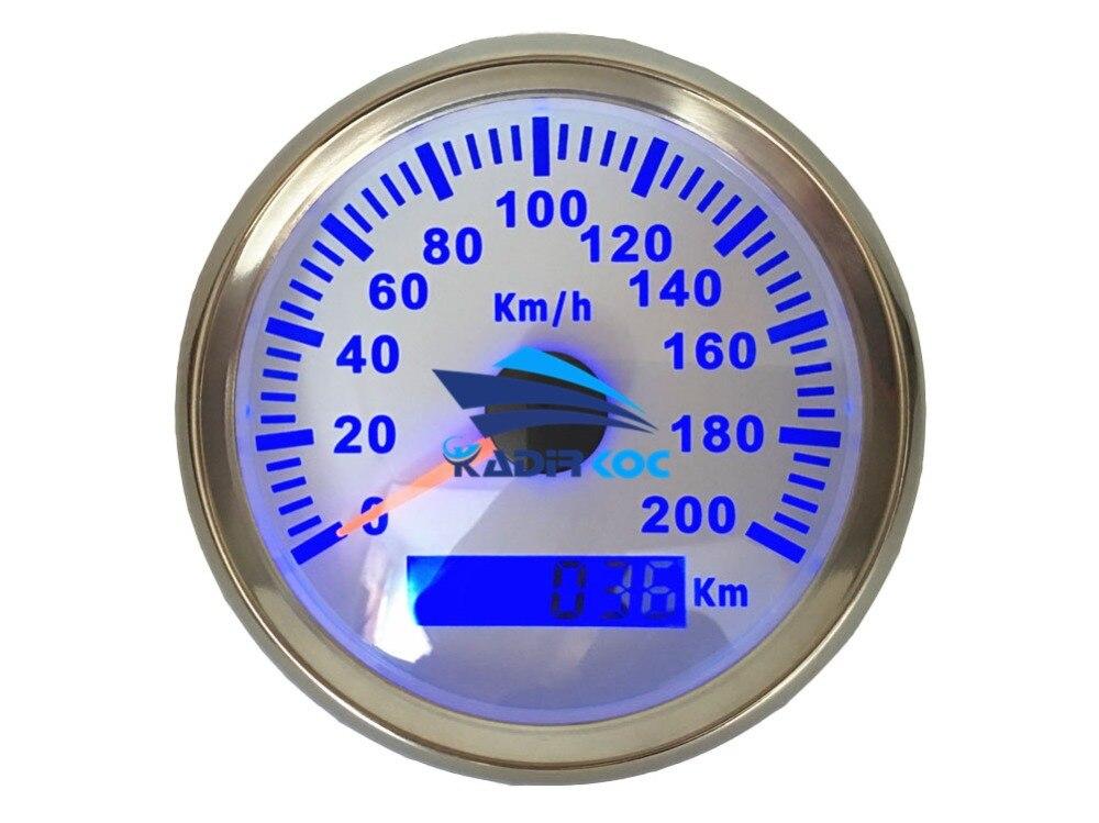 1 stk 85mm autotuning målere sort GPS hastighedsmålere Ratemetre - Bilreservedele - Foto 3
