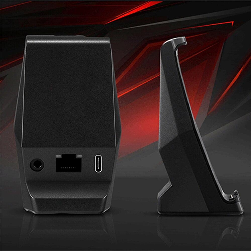Оригинальное настольное зарядное устройство типа C для Nubia Red Magic 3, зарядная док станция для смартфонов 3,5 мм, отверстие для наушников для Nubia