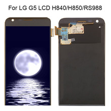 Free Shipping 100% Tested For LG G5 LCD For LG G5 H840 H850 H860 H820 LCD Display Screen Touch Digitizer Assembly Replacement