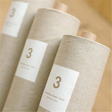 50*50CM Plain Linen Fabric Hand Embroidery Natural Linen Fabric Perfect for Sofa Cover, Table Cloth, DIY Clothing etc(China)