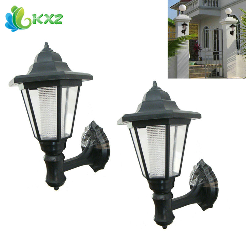 2pcs Outdoor Led Solar Power Light Light Energy