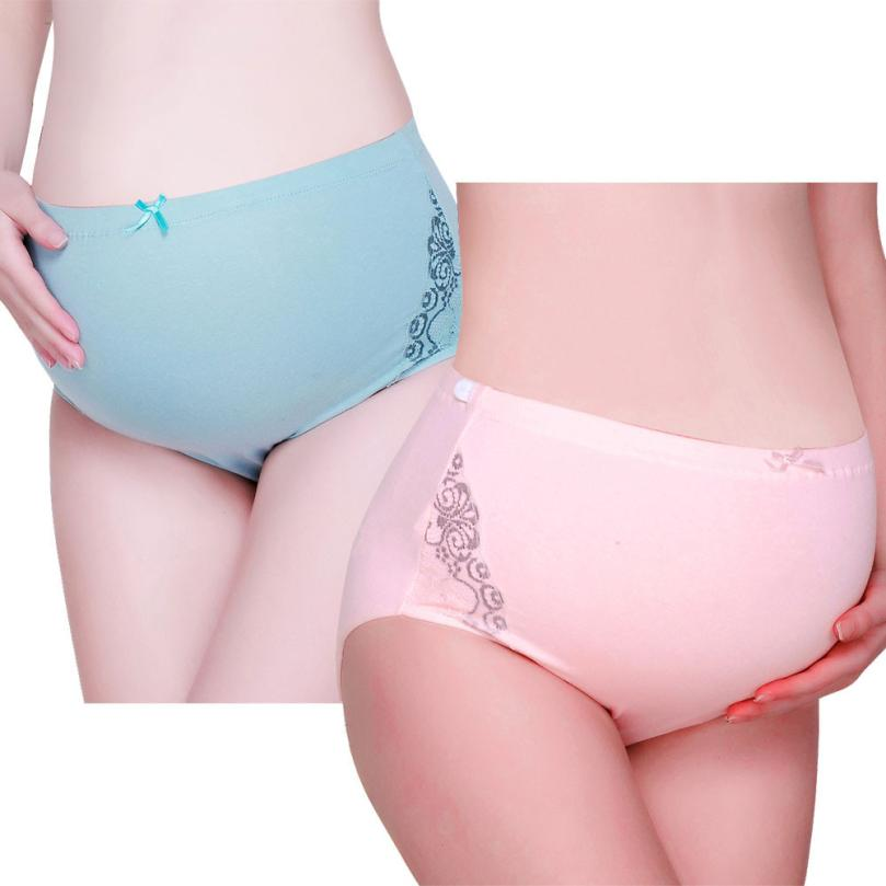 Pure Color Pregnancy Maternity Pregnant Women Underwear Panties Intimates panties Clothing Size L-XXL for pregnant women