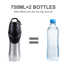 Dog Feeding Water Bottle for Outdoor