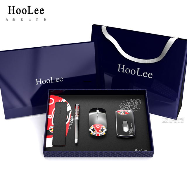 HOOLEE Premier Business Gift Set pen and mouse set practical suit upscale corporate gifts