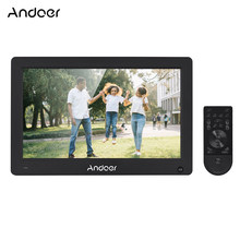 "Andoer 11.6"" Digital Photo Frame IPS Picture Album High Resolution 1920*1280(16:10) Video AV Input Clock with Remote Control(China)"