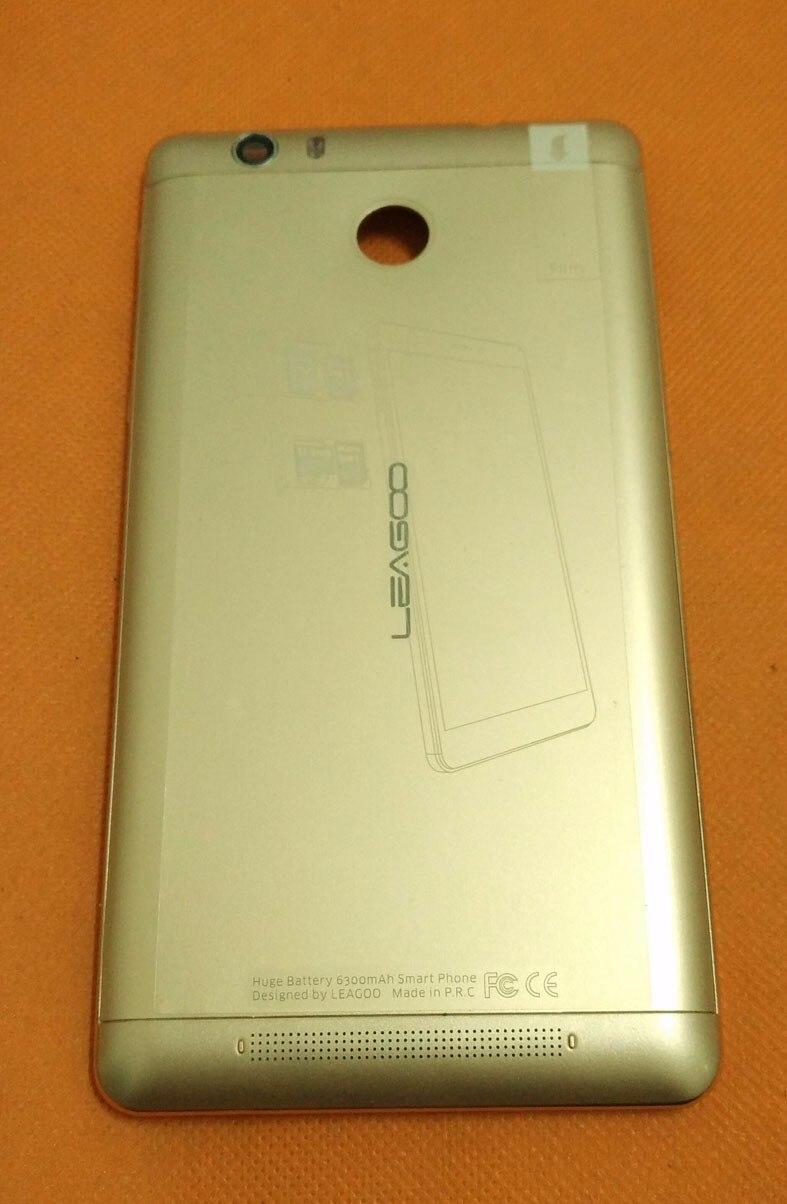 Vieux Original De Protection Batterie Cas + caméra verre pour LEAGOO Requin 1 MTK6753 Octa Core 6.0 FHD Livraison gratuite