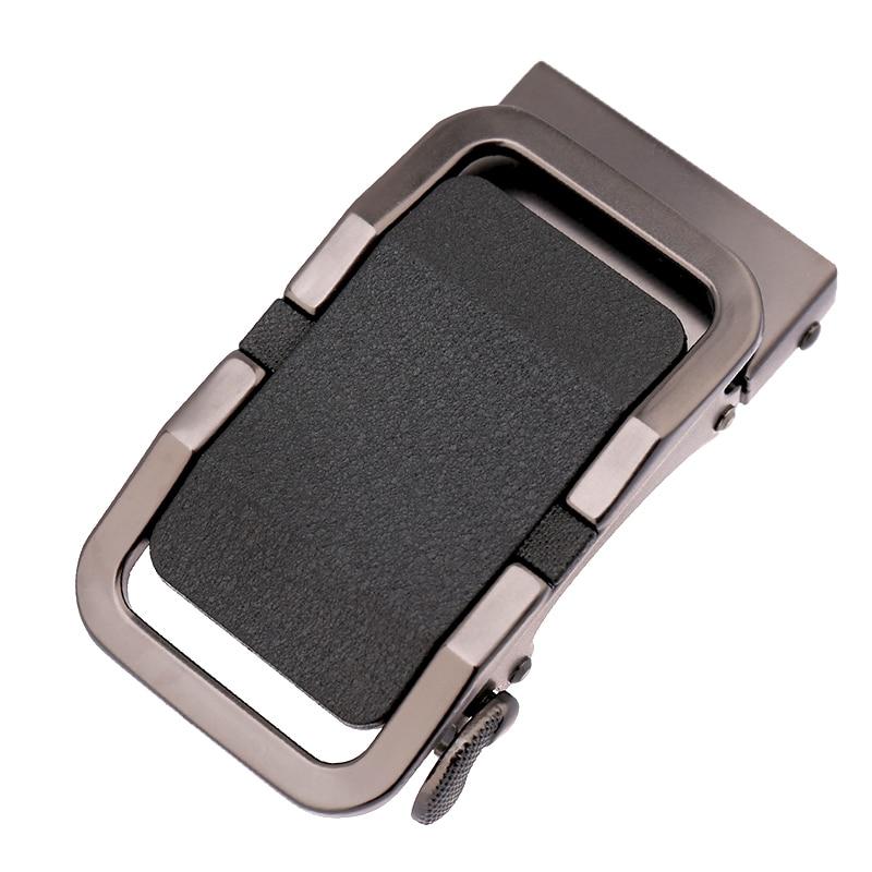 High Grade Zinc Alloy Steel Auto Belt Buckle Business For Men's Waist Belts Buckle Male Man Buckles Fit 3.5 Cm Wideth Belt