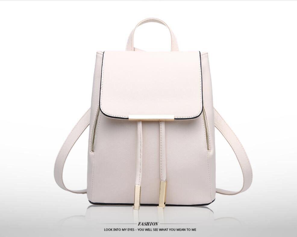 HTB1Wz nfbsTMeJjSszhq6AGCFXa4 Ainvoev Bookbag Women Backpack Fashion Girls Leather Backpack Candy Color Teenage School bag Mochila High Quality Satchel