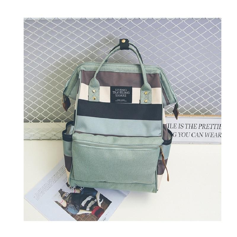 Kajie Canvas Student School Bags Backpacks For Teenage Girls Feminine Fashion Backpack Women Mochila Feminina Cute Bagpack