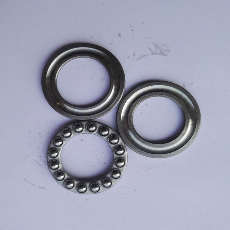 1 Piece Flat thrust ball bearing 51312 pressure bearing 8312 size: 60X110X35MM 51312 thrust bearing 60x110x35 mm abec 1 1 pc axial 51312 thrust ball bearings 8312