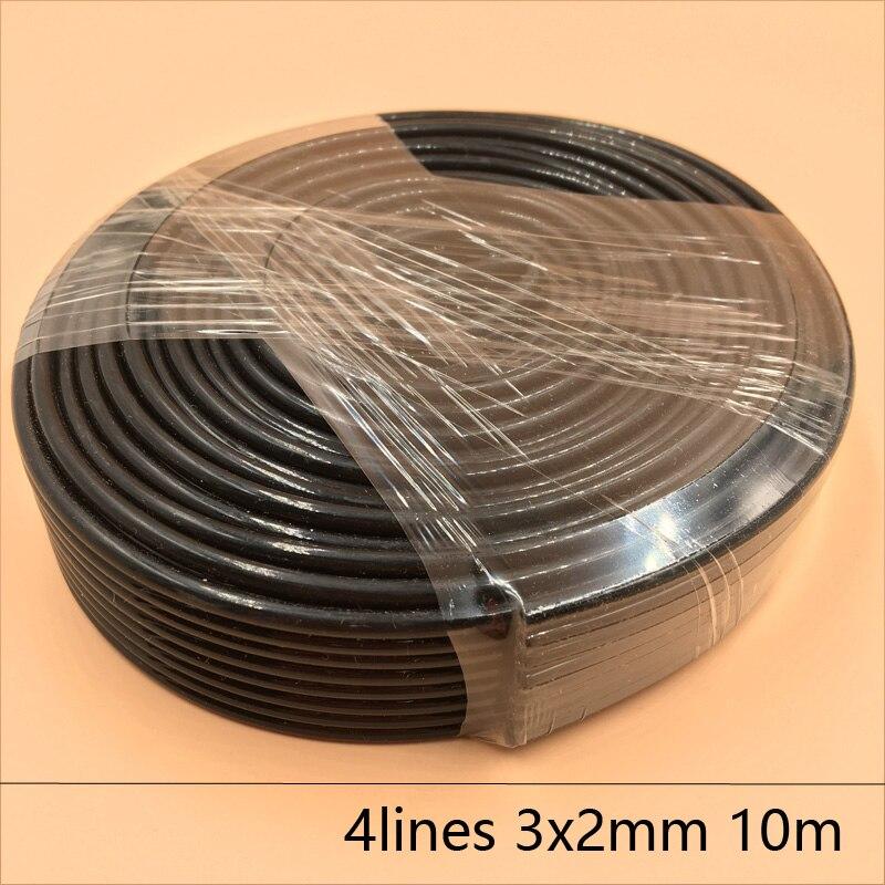 4 Linhas de tubo de tinta de impressora UV 3X2 MM para Epson Allwin Mimaki Roland Mutoh tinta mangueira 10 M/lote Grande suprimento de tinta tinta sistema