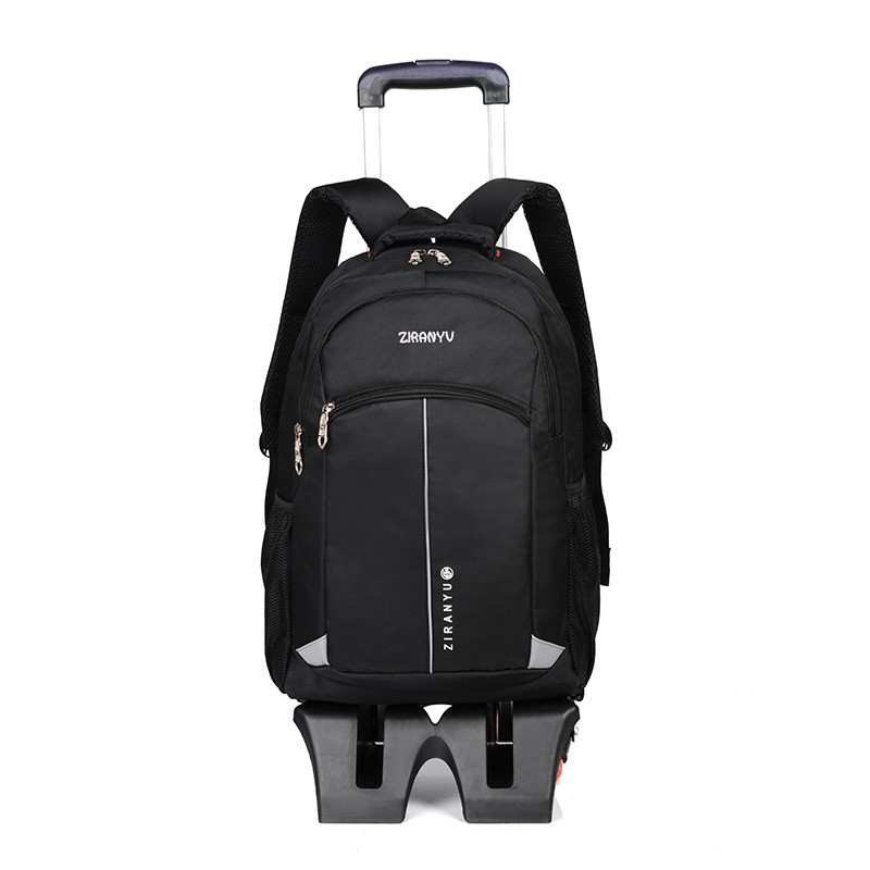 Latest Removable Children School Bags 6 Wheels Can Climb the Stairs Kids boys girls backpacks Trolley Schoolbag Luggage Book Bag лазерный дальномер metabo ld 60 60м 606163000