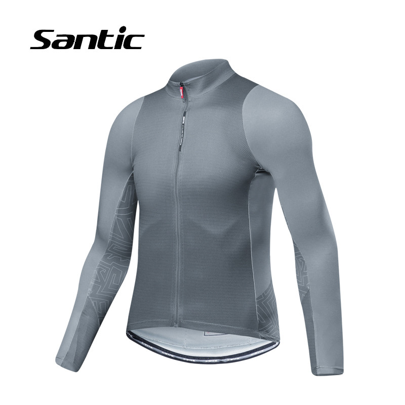 Santic Men's Summer Long Sleeve Cycling Jersey Tops New Road Mountain Bike Clothing Shirt Pro Bicycle Clothes Maillot Ciclismo 2017 spring summer cycling jersey women long sleeve mountain biking jerseys shirt outdoor sports clothing ropa ciclismo santic