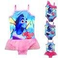 Bebé del traje de Baño 2016 de Natación Chaleco de Buscando A Nemo Dory Finding Bikinis Trajes de Baño Para Niños Traje de Baño Infantil