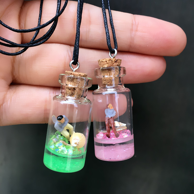 Make A Wish Bottle Pendant