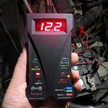 Новый автомобильный аккумулятор тестер автомобиля сгибание зарядки цифровой анализатор 12 светодиодный LED 805A цифровой тестер и зарядка системы анализатор