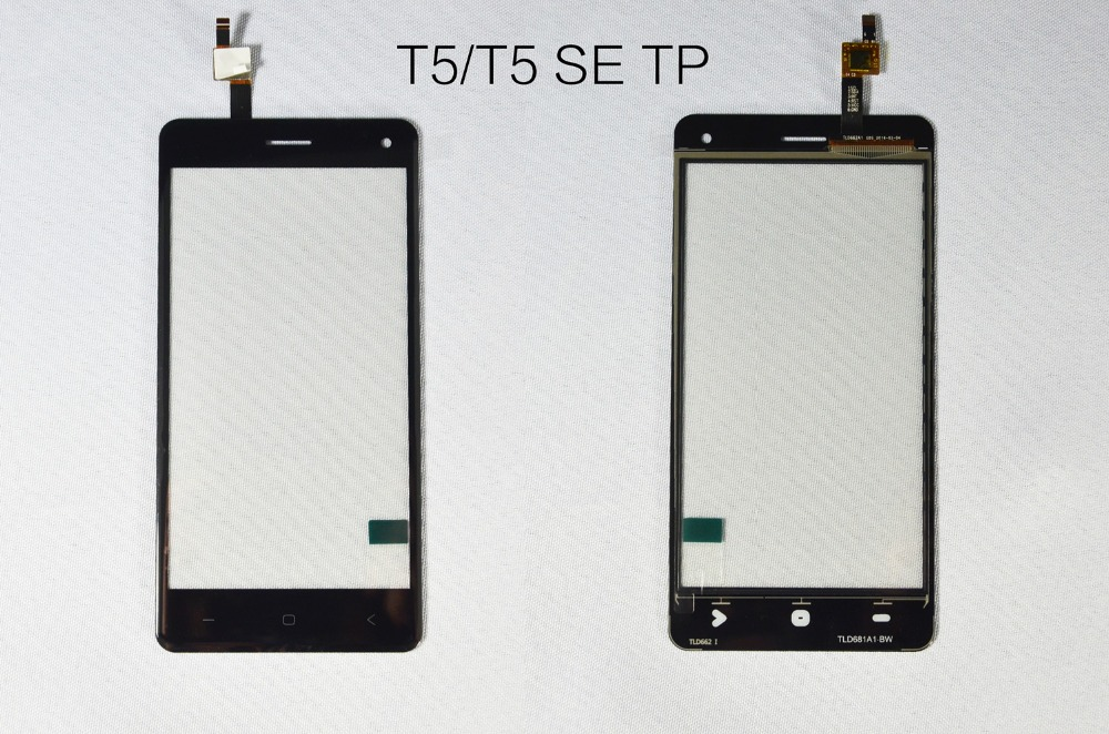 Original Spare Part 5 0 inch Glass Touch Screen For VKWORLD T5 T5 SE