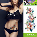Professional Tattoo Kit Body Art Temporary Tattoos Women Sexy Colorful Flower Tattoo Arm Sleeves Sticker Women Pirate Tattoos