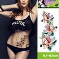 Profissional Kit de Tatuagem Body Art Tatuagens Temporárias Mulheres Sexy Colorful Flower Mangas Braço Tatuagem Etiqueta Mulheres Tatuagens Pirata