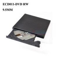 New External 9.5mm USB 2.0 Super Slim DVDRW Burner CD DVD Writer Driver