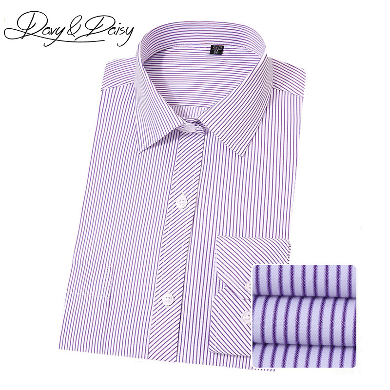 100% Quality Davydaisy New Arrival Men Social Shirts Dress Striped Solid Business Casual Long Sleeved Shirt Men Formal Camisa 4xl Ds-136 To Enjoy High Reputation In The International Market