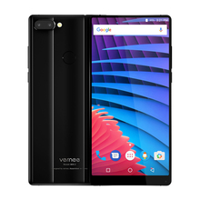 vernee MIX 2 4GB 64GB 6 Inch 18:9 Mobile Phone 2160*1080P Helio P25 Fingerprint 13MP+5MP Dual Rear Cameras 4200mAh Smartphone