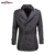 Seven7 Marca de Qualidade Superior Homens Trench Coat Britânico Double Breasted Longo Trench Coat Jacket Cintura Ajustável Trench Coat 703K2569
