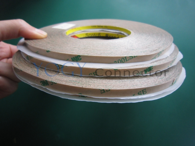 Combined 3 Rolls 10mm/20mm/30mm width Strong Adhesive 3M 9495LE 300LSE Double Sided Transfer Clear Adhesive Tape for LSE Surface 20mm 55m 0 17mm 3m 300lse 9495le super strong double sided adhesive transfer tape for iphone tablet phone mini pad touch lcd