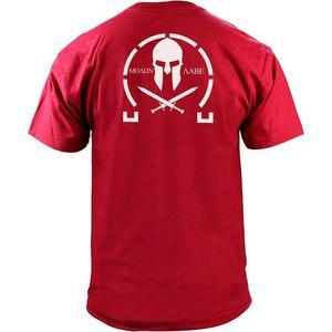 Image 4 - Männer Klassische Molon Labe Grafik T Shirt Doppel Seite Neue Sommer Mode männer Einfache Kurzen Ärmeln Baumwolle Anpassen T shirts