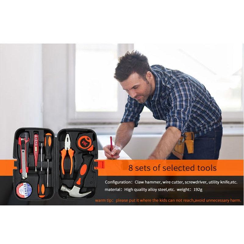 AOBEN 8 in 1 multifunktsionaalsete puidutöötlemisriistade - Tööriistakomplektid - Foto 3