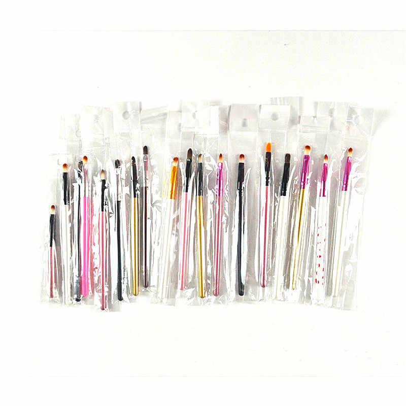 1 piezas portátil pinceles diferentes forma redonda Punta de pelo de Nylon pintura cepillo arte suministros