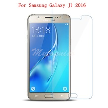 MuTouNiao For Samsung Galaxy J1 2016 J120 Clear 9H Premium Tempered Glass Screen Protector Anti-scratch Film For Samsung J12016