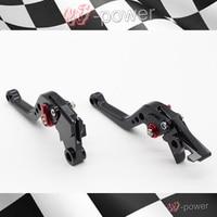 For DUCATI DIAVEL / CARBON MULTISTRADA 1200 / S Motorcycle Accessories CNC billet aluminum short brake clutch lever black