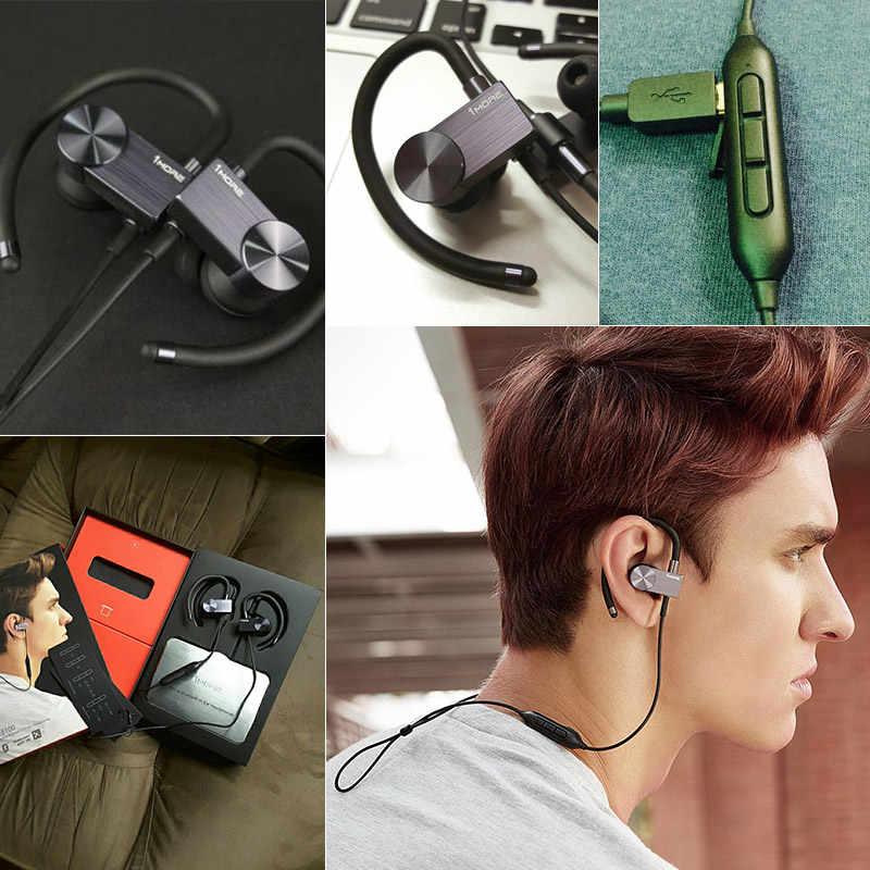1 więcej E1023BT sport zestaw słuchawkowy bluetooth słuchawki douszne bezprzewodowe do biegania słuchawki słuchawki douszne z mikrofonem dla systemów iOS i Android telefonu Xiaomi