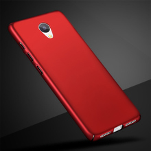 Fundas For Meizu M5C Cases Meilan A5 Cover Hard Plastic Matt