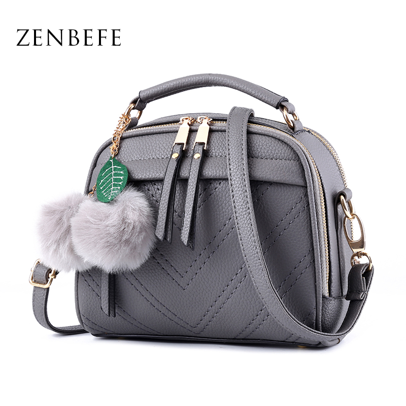ZENBEFE Ladies Party Purse Fahion Kvinnor Messenger Väskor Kvalitet Små PU Läder Väskor Märke Crossbody Shoulder Bag Totes Clutch