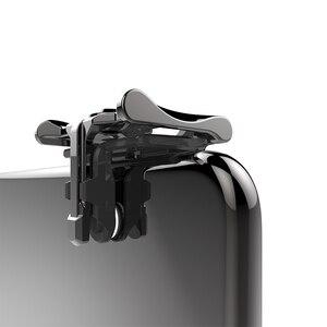 Image 5 - 1 paar Metalen Telefoon Game Pad PUBG Mobiele Mobiel Game Controller Schieten Trigger Game Joy Stick voor IOS Android