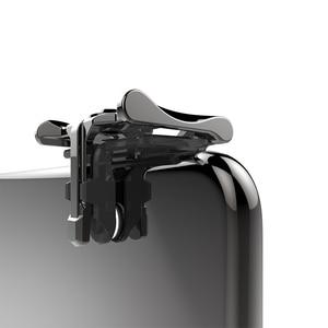 Image 5 - 1 par de metal telefone jogo almofada pubg celular móvel controlador jogo tiro gatilho jogo alegria vara para ios android