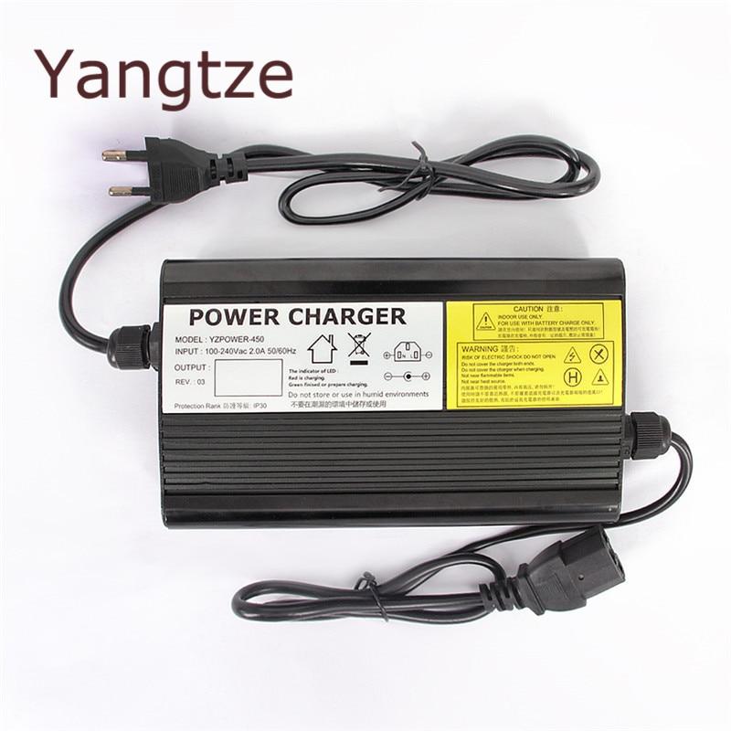 Yangtze AC-DC 84 V 4A 3A 2A Lithium Batterie Chargeur Pour 72 V E-bikeo Batterie Outil Alimentation pour Réfrigérateurs et TV récepteurs