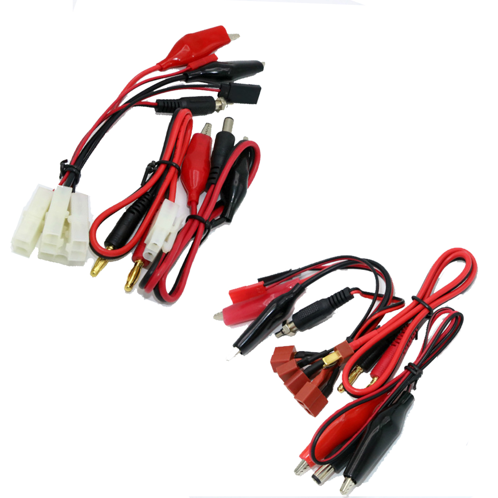 1 set IMAX B6 B6AC / B8 2S-6S Batterij Balance Charger Kabel Alligator Clips T Plug of Tamiya Plug