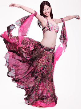 Hot Sale New design top grade high quality a belly dance suit/belly dance costume/belly dance wear/BRA belt skirt 8601 celia