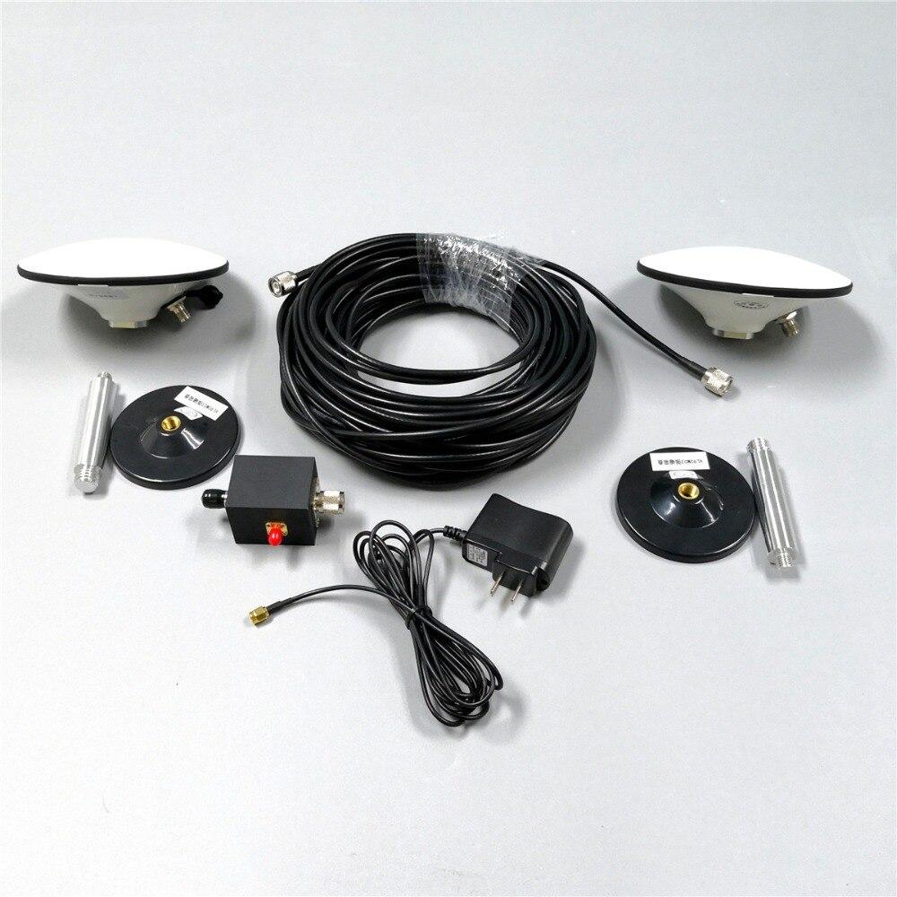 Répéteur de signal GPS répéteur de signal RTK GNSS, GPS Glonass Galileo Beidou, câble étanche 25 mètres, prend en charge 3 modes système.