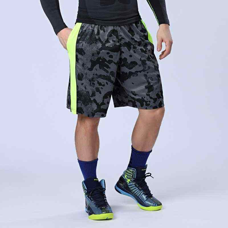 Men Pro Sporting Gymming QUICK-DRY Workout Compress Capri Cropped Casual Shorts For Bodybuilding Runs Slim Fitness Yogaing VA18